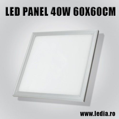 led panel incastrabil 40w 4000K 60 X 60 cm