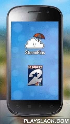 KPRC StormPins  Android App - playslack.com ,  KPRC StormPins is a crowd-sourced social weather app that turns you in to a citizen reporter. You can report real time information by dropping a pin and attach 10 seconds of video, a photo and have 2-way chat with others in KPRC StormPins can display your reports instantly on-air providing a valuable service to the community. KPRC StormPins also works with PinResponder that allows KPRC and city officials like Police, Fire or Emergency Managers…