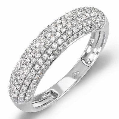 Round Diamond Ladies Anniversary Wedding Band 71% off! Price: $299.00: Gold Round, Carat Ctw, 14K White, Weddings Band, Round Diamonds, Lady Anniversaries, White Gold, 0 50 Carat, Diamonds Lady