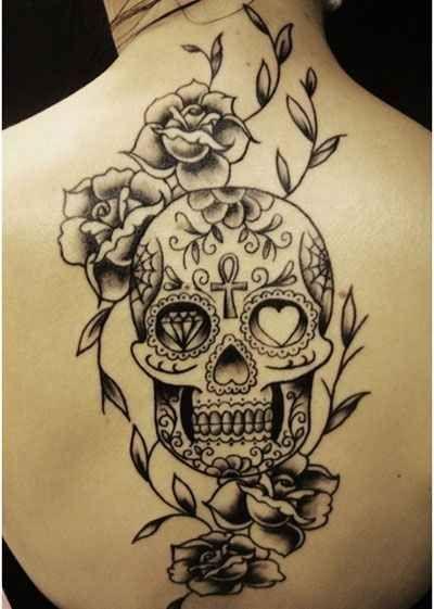 41 Amazing Sugar Skull Tattoos To Celebrate Día De Los Muertos