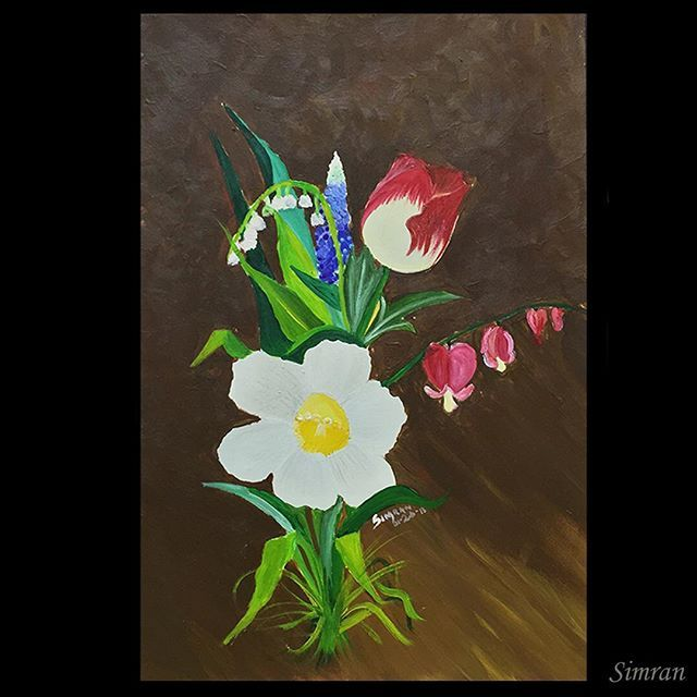#stilllife #acylic #nature #flowers #artcomplex #arts_help #art_worldy #arts_gallary #arts_gallery #art_spotlight