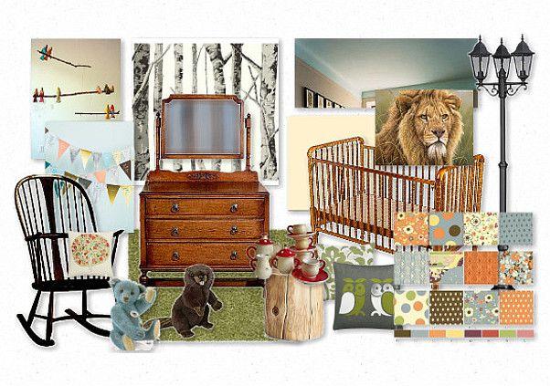 Narnia Nursery by awallnut | Olioboard