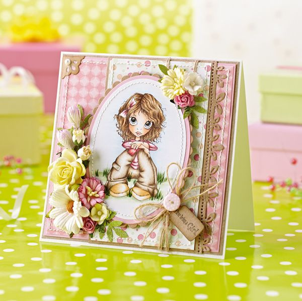 Have you seen our UK exclusive Little Darlings Rubber Stamps project yet? - Papercraft Inspirations