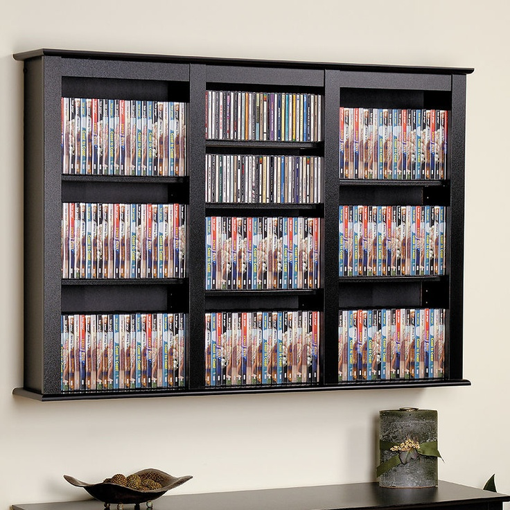 love this for dvd storage right on the wall easy access!!