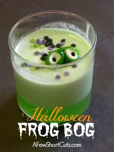 Halloween Frog Bog Recipe Such a fun treat for the kids!