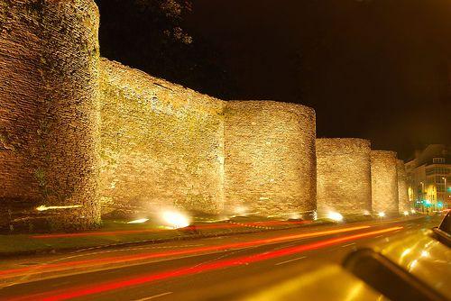Lugo, muralla romana