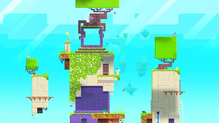 FEZ Game Wide Screen Images Wallpaper