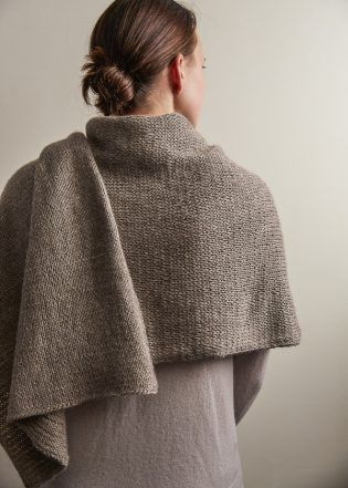Elementary Wrap  | Free Knitting Pattern by Purl Soho