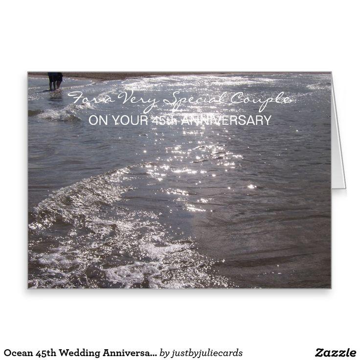 wedding anniversary greeting cardhusband%0A Ocean   th Wedding Anniversary Card