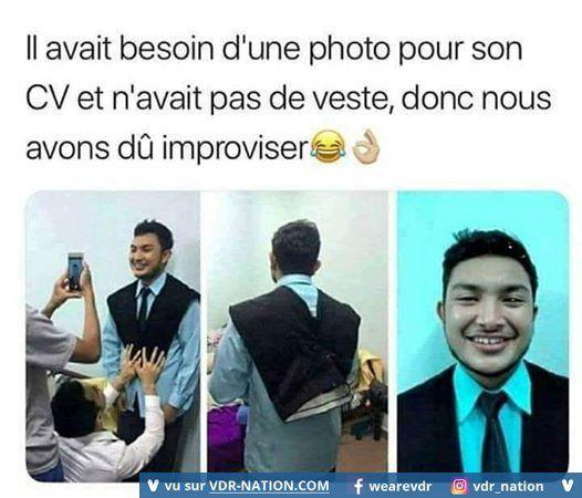 photo pour cv