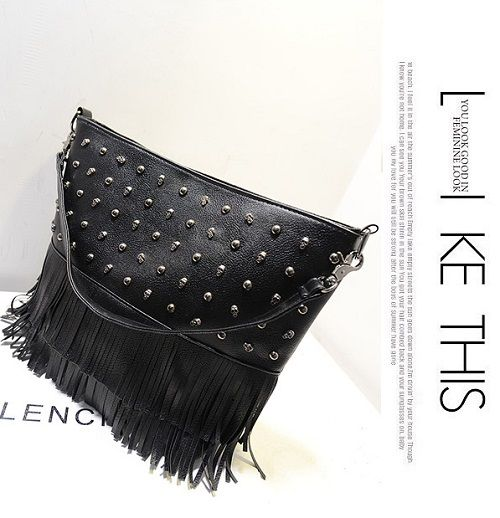Tas import C022 Black Material: PU leather Size:38x30 IDR:134.000