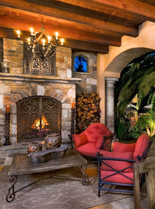 708 best porch decorating ideas images on pinterest for Southern living keeping room ideas