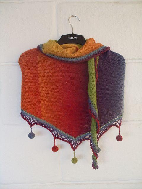 OOoooooohhhhhhh!!!!!!!: Strikk 001, Beautiful Gradation, Crochet Apparel, Knits Shawl, Tricot Crochet, Baby Clothing, Kids Clothing, Photos Shared, Crochet Inspiration