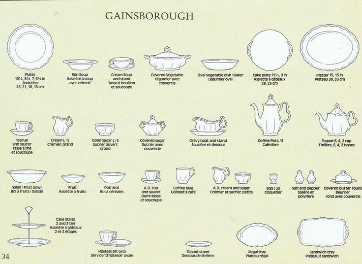 Royal Albert Cup Shapes Www Royalalbertpatterns Com