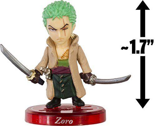 "Zoro ~1.7"" Mini-Figure w/ Stand: One Piece Collection - Punk Hazard Panic Series (Japanese Import) One Piece http://www.amazon.com/dp/B00VKDS666/ref=cm_sw_r_pi_dp_TEM5vb02BYH71"