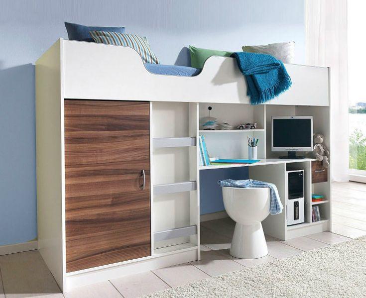 hochbett mit schreibtisch 2 die besten 25 hochbett mit schreibtisch ideen auf pinterest 1 die. Black Bedroom Furniture Sets. Home Design Ideas