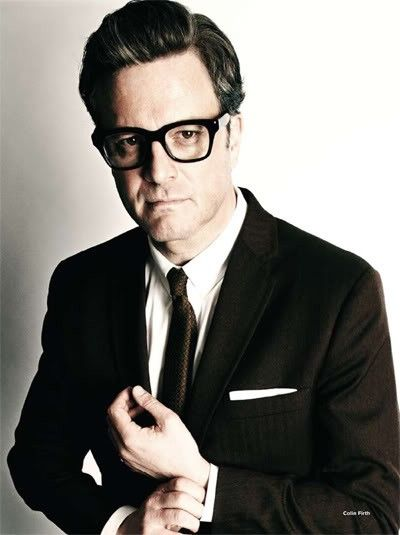Colin Firth is the man, even despite the hipster glasses <3