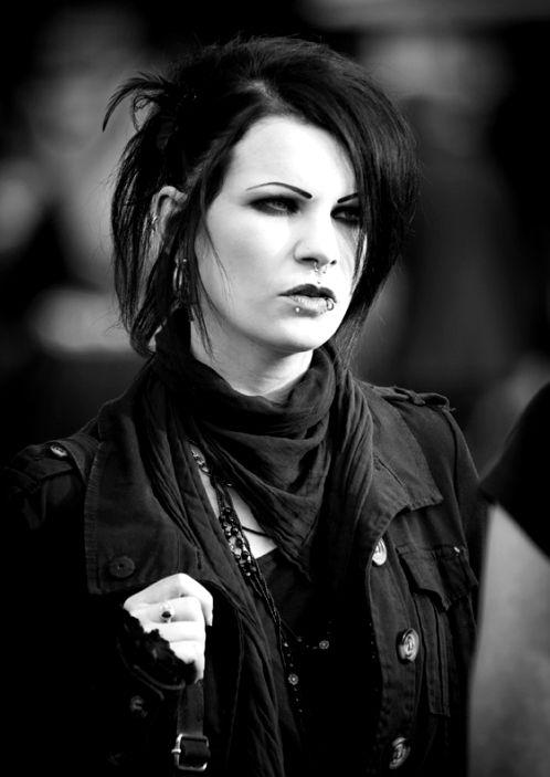 Day #Goth girl