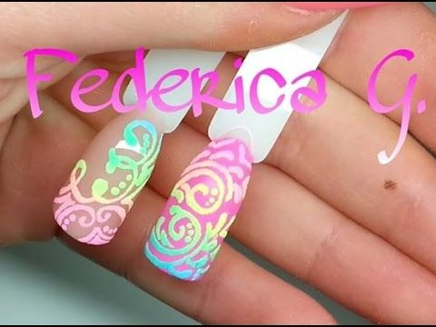 26 best 3d nail art images on pinterest 3d nails art nail nail art effetto zucchero 2 polveri acriliche prinsesfo Images