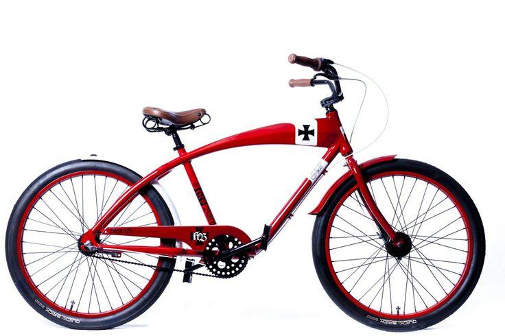 Red Hawk Beach Cruiser Bike  FELT Bicycles  House And Leisure  Beach Cruis