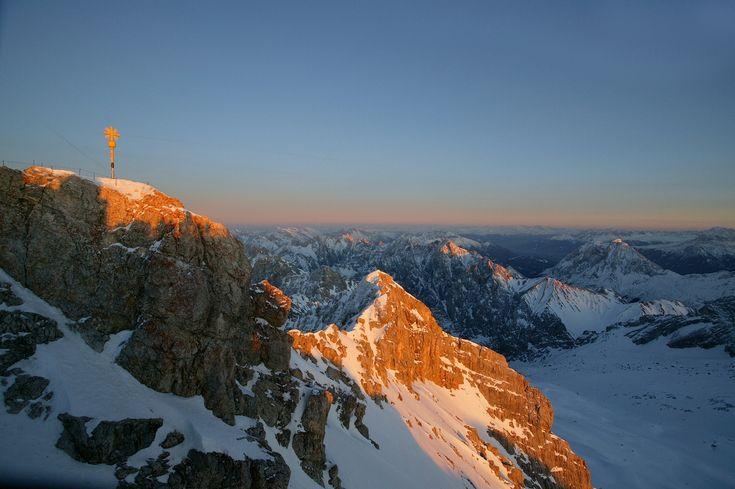 Deutschlands höchster Berg - ZUGSPITZE 2962m