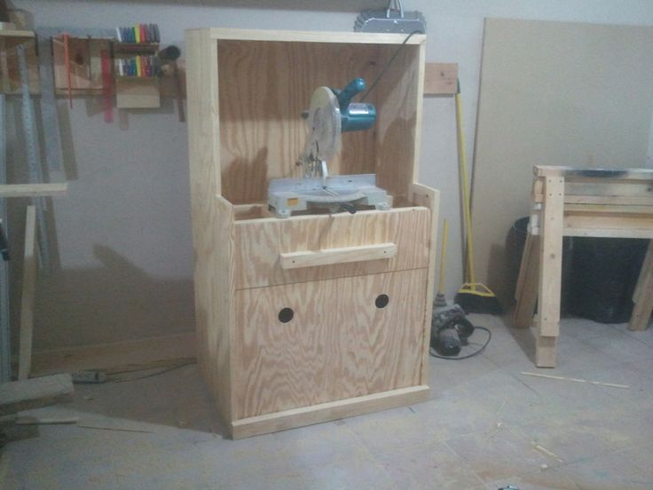 ibuildit.ca Miter Saw Station | Jays Custom Creations