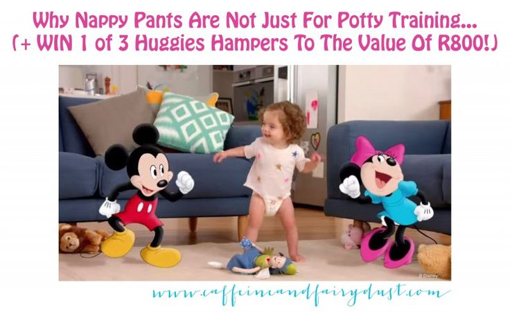Why Nappy Pants Are Not Just For Potty Training… (+ WIN 1 of 3 Huggies Hampers To The Value Of R800 each!) November 2, 2015 by Maz 5 Comments (Edit)