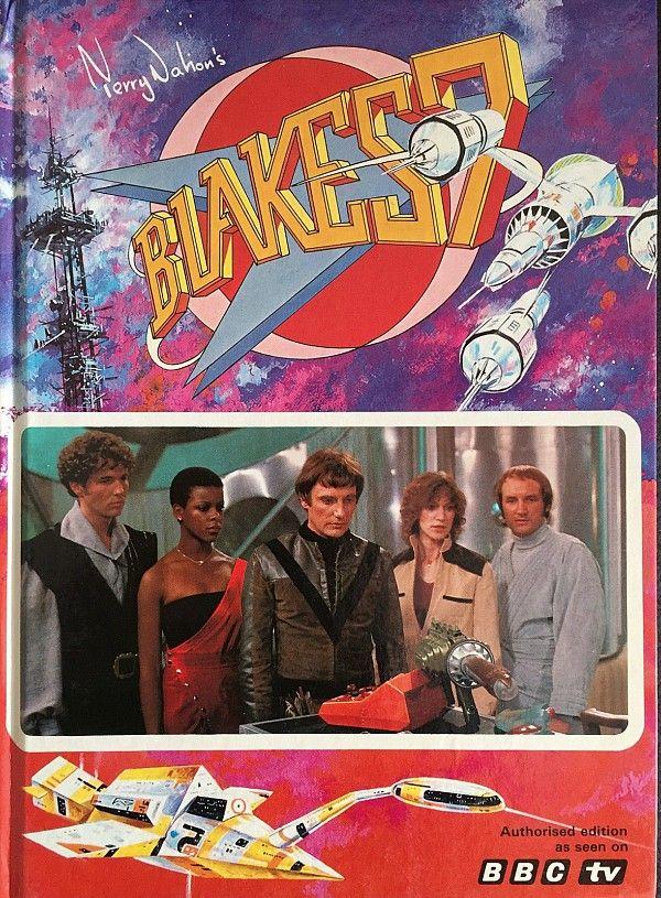 BBC TV Blakes 7 Annual 1981