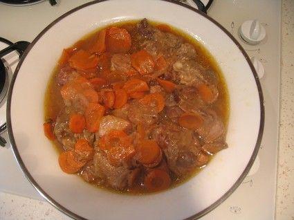 Sauté de veau aux carottes