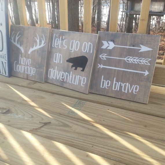 Hey, I found this really awesome Etsy listing at https://www.etsy.com/listing/214648795/woodland-bedroom-nursery-signs-rustic