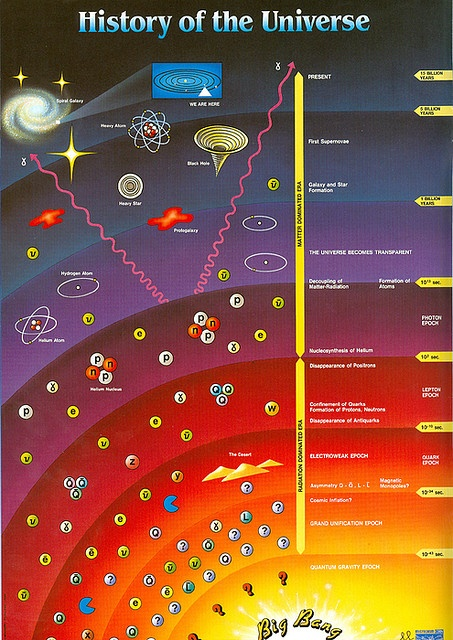 """Large Hadron Collider~ History of the Universe, because all species were designed to procreate.  Many believe we have within our genetic memory, human junk DNA which contains all of the """"programs"""" designed to help us evolve and re-create."""