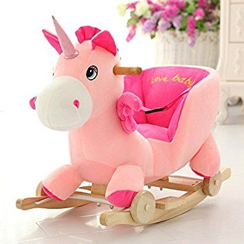 Buy Tickles Unicorn Plush Baby Rocking Chair(50 cm) Online at Low Prices in  India - Amazon.in