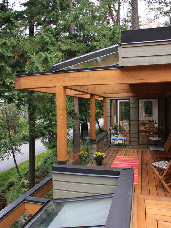 Patio Patio Covers Above Roof Line Design Pictures