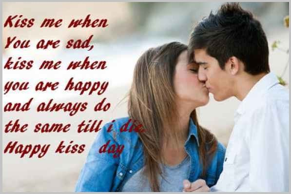 Famous Happy Kiss Day Quotes Happy Kiss Day Quotes Kiss Day