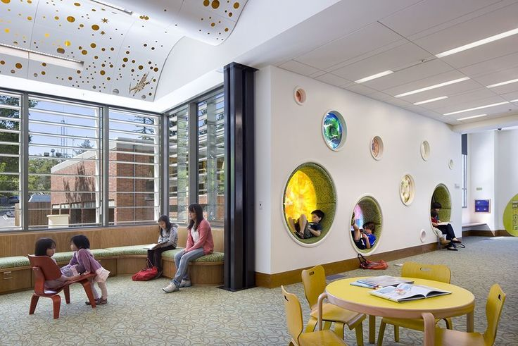 School Design | Educational Spaces | Los Gatos Public Library / Noll & Tam Architects