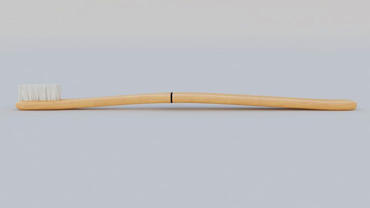 The NORD&NORD Brush - Swedish wooden toothbrush!