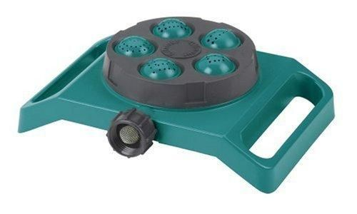 Gilmour Five Pattern Turret Sprinkler 775 Teal