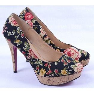 Pantofi de Dama Flowers Black http://www.goldenware.ro/Pantofi-Dama/Pantofi-de-Dama-Flowers-Black