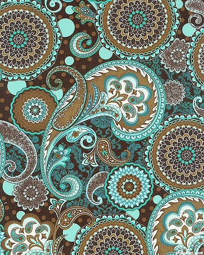 French dress paisleys medallions paisley pinterest for Paisley wallpaper