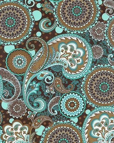 French dress paisleys medallions paisley pinterest for Paisley wallpaper