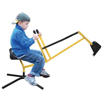 Children's Sand Digger - Black & Yellow | Buy Bikes, Scooters & Ride Ons Online - oo.com.au