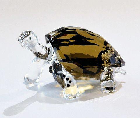 Swarovski Colored Crystal Figurine GALAPAGOS TORTOISE EVENT 2010 #995036