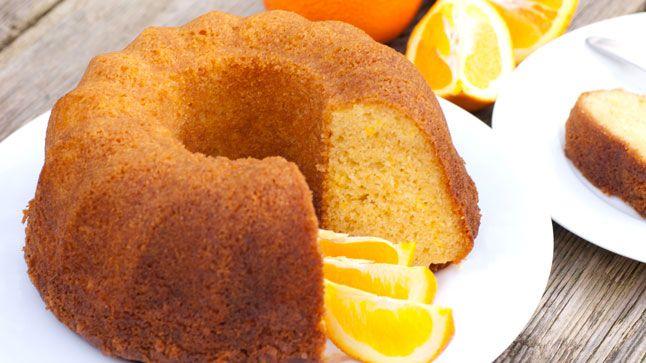 Gâteau orange et cardamome