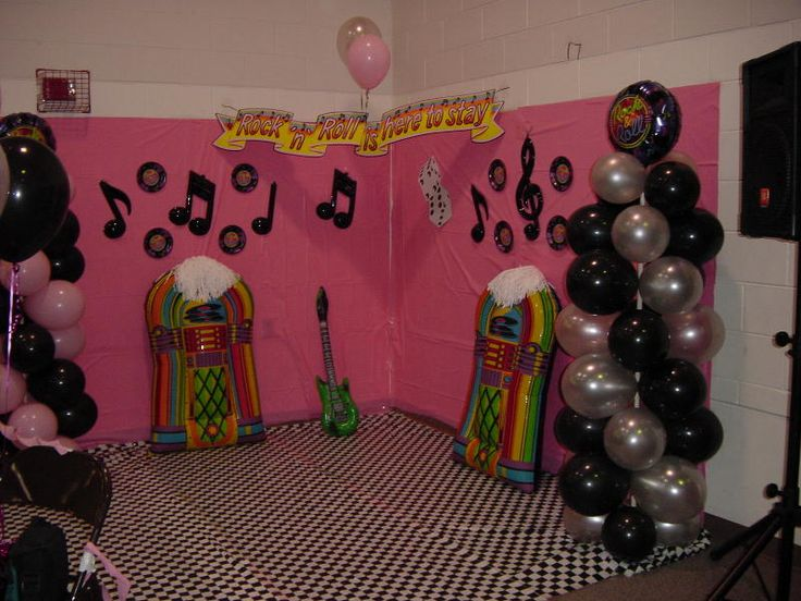 Decoration Ideas For An Outdoor Movie Party Showing Grease On An Inflatable  Movie Screen   Southern · Party Decoration IdeasSock Hop ...