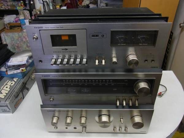 オンキョー株式会社/ONKIYO AUDIO アンプ カセットデッキ チューナー_画像1