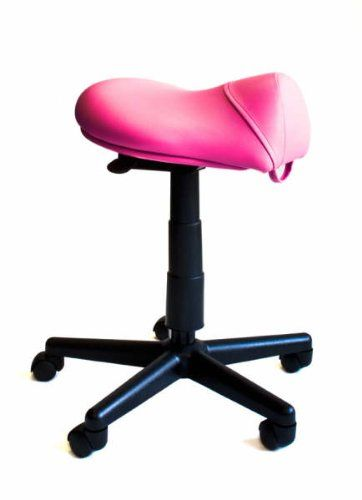 Saddle Stool Hair Cutting Stool S1116 Pink Vinyl [Health and Beauty]  sc 1 st  Pinterest & 41 best Salon stuff images on Pinterest | Saddles Stools and ... islam-shia.org