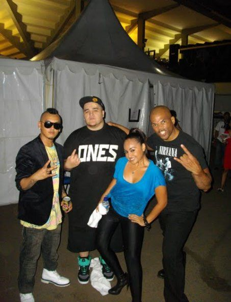 Soulnation Festival in Jakarta - Israel, Jerome, Jess Mauboy and Run of RUN DMC!