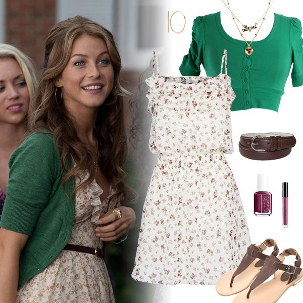 Footloose Inspired Fashion | Emerald Cardigan | Sincerely Sweet Boutique