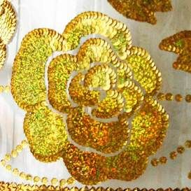outlet: kinderlampen wandlamp gouden bloemen
