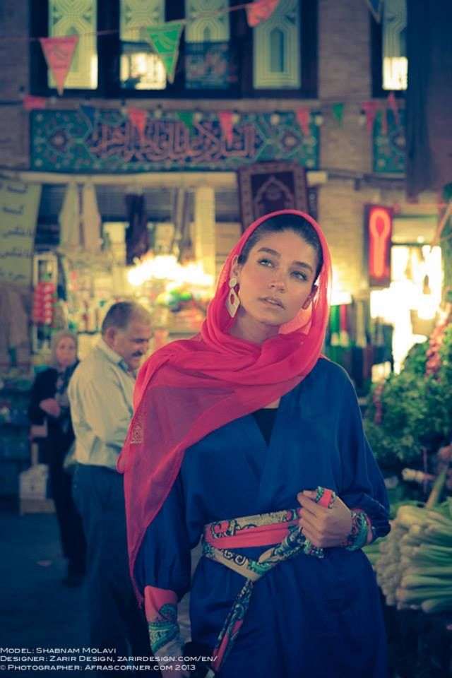 street fashion in iran